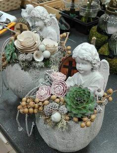 Paper Crafts, Diy Crafts, Advent, Succulents, Floral Wreath, Gardening, Wreaths, Plants, Home Decor