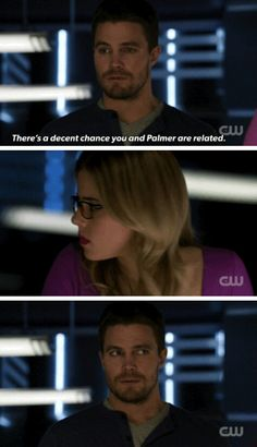 Arrow - Oliver & Felicity #3x19 #Season3 #Olicity I was laughing so hard