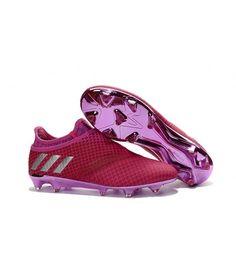 detailed pictures cb51a 61a8a Adidas MESSI 16 Pureagility FG-AG FODBOLDSTØVLE BLØDT UNDERLAG  KUNSTGRÆSfodboldstøvler Pink