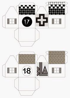 mixtum design: Letos s předstihem . Advent, Floor Plans, Design, Floor Plan Drawing, House Floor Plans
