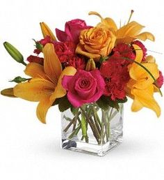 Send get well flowers from a real Baltimore, MD local florist. House of Arnold Florist has a large selection of gorgeous floral arrangements and bouquets. We offer same-day flower deliveries for get well flowers. Bright Flowers, Fall Flowers, Summer Flowers, Bright Colors, Send Flowers, Flowers Garden, Fresh Flowers, Yellow Flowers, Hot Pink Roses