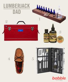 Get your guy back in touch with his Lumberjack side with these Father's Day gift ideas!