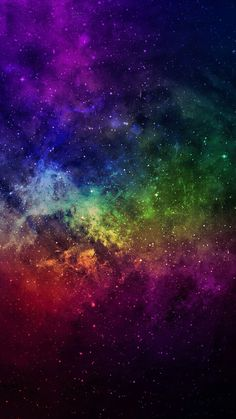 Galaxy Wallpaper For Phone Ideas – wallpaper - Space Space Phone Wallpaper, Wallpaper World, Planets Wallpaper, Rainbow Wallpaper, Colorful Wallpaper, Galaxy Wallpaper, Cool Wallpaper, Galaxy Painting, Galaxy Art