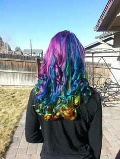Sure, it looks pretty and vibrant now.. But in less than a month it'll look like vomit.