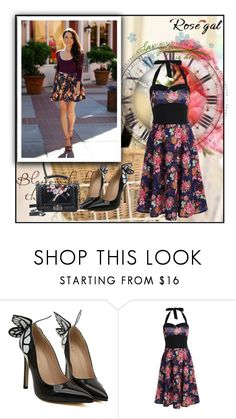 """ROSEGAL.COM 2/2"" by blagica92 ❤ liked on Polyvore featuring vintage and rosegal"