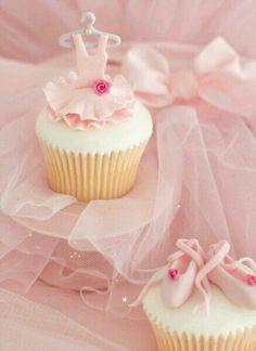 Cup cake de ballet