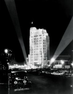 """The Wiltern, 1931 — from Taschen's """"Los Angeles: Portrait of a City."""""""