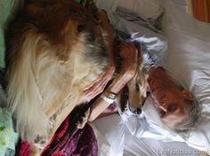 ¡Conmovedor! Enfermo terminal despidiéndose de su mascota (Fotos) - http://www.leanoticias.com/2011/10/20/conmovedor-enfermo-terminal-se-despidindose-de-su-mascota-fotos/