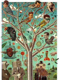 Ilustración de Michael Waraksa