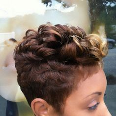 Love the colors and the cut!!! Like A River Hair Salon.