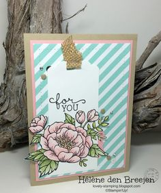 Stampin'Up! Birthday blooms