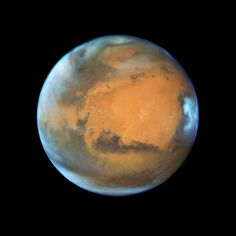 Hubble Telescope Captures Incredible Up-Close View of Mars