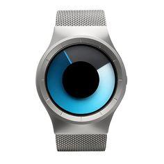 2016 Creative Quartz Watch Men's Luxury Brand Casual Watch Women Stainless steel Mesh Band Celeste Watch Northern Lights Series