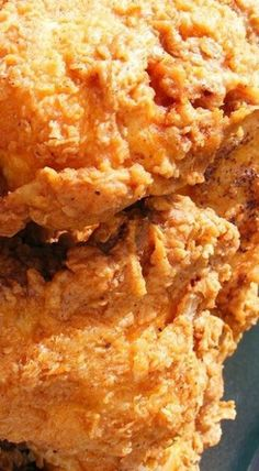 Triple Dipped Fried Chicken – the ultimate in crispiness! ❊ Triple Dipped Fried Chicken – the ultimate in crispiness! Homemade Fried Chicken, Fried Chicken Breast, Fried Chicken Recipes, Fried Chicken Recipe Pioneer Woman, Crispy Fried Chicken Wings, Chicken Meals, Keto Chicken, Roasted Chicken, Grilled Chicken