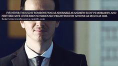 BBC's Moriarty is sweet scary...