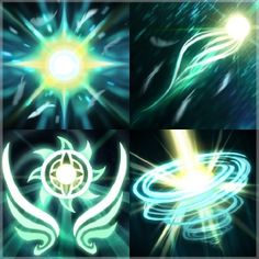 Feng's Radiance Ability Icons - Skywrath Mage