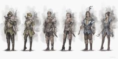 character_sketches_by_cxartist-d6fnur2.png (1264×632)