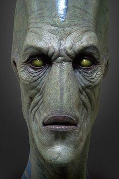 jordu schell - Google Search Alien Creatures, Fantasy Creatures, Alien Concept, Concept Art, Ufo, Aliens, Alien Art, Sculpture, Creature Design