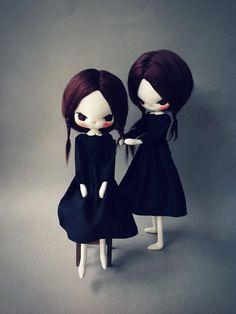 Evangelione twin dolls