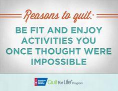 Enjoy fun activities! #quit #smoking