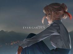 Violet Evergarden by dinigaleri on DeviantArt Videos Anime, Anime Gifs, Manga Anime, Anime Art, Anime Girl Cute, Anime Love, Violet Evergreen, Violet Evergarden Anime, Kyoto Animation