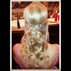 Hair done by mccall butler... Formal look!!