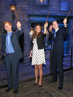 "The opening of the ""Making of Harry Potter"" studio tour at Warner Bros. Studios Leavesden in London."