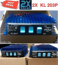 Other Radio Communication: 2X Kl 203P Mobile Linear Amplifier By R.M (Free Worldwide Shipping) -> BUY IT NOW ONLY: $115 on eBay!