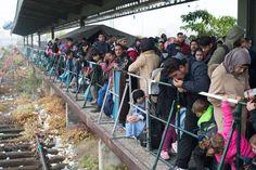 Imigrantes cruzam fronteira da Áustria e chegam na Alemanha(foto:EPA)
