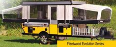 Fleetwood Evolution Camping Trailer