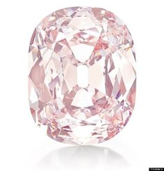 A rare pink 34.65-carat diamond, nicknamed the Princie Diamond recently sold at auction at Christie's for 39.3 million dollars. The diamond was discovered 300 years ago in the Golconda mines in India.