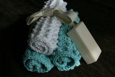 nubbie scrubbies - free dish cloth pattern