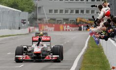 The greatest ever F1 race, the 2011 Canadian GP at Circuit Gilles Villeneuve, Montreal. The race lasted over 4 hours and had 6 safety car periods. The race was won by Jenson Button who had travelled through the pits 5 times and was last at one point, he overtook Vettel on the last lap to claim victory in the greatest race ever. Fantastic result for my favourite driver!
