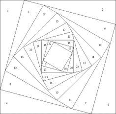 Free Iris Folding Patterns – Square