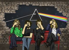 "marys-artportafolio: "" Comisión ""Pink Floyd - Fanart "" """