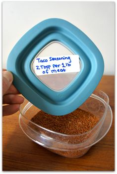make your own taco seasoning!  use 2 Tbsp per one pound of meat.