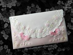 【Pergamano 纸蕾丝】粉色珍珠卡
