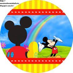 Montando minha festa: A casa do Mickey Mouse