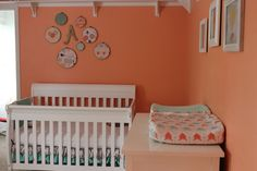 Project Nursery - Coral and Mint Nursery