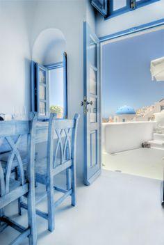 GREECE CHANNEL   My Blue - Santorini Cave House