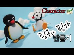 Penguin Characters - 2 in 1 polymer clay tutorial