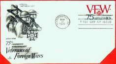 1974 VFW 75th Founding Anniversary, Washington DC- #1525 Film Up, Cinderella And Prince Charming, Lake Worth, First Day Covers, Us National Parks, Us Military, Disney Art, Washington Dc, Arts And Crafts