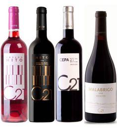Vinos Cepa 21 Red Wine, Alcoholic Drinks, Bottle, Glass, Labor Positions, Wine, Wine Cellars, Drinkware, Flask
