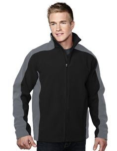 Men's Micro Fleece Bonded Jacket With Membrance (100% Polyester).  Tri mountain 7880