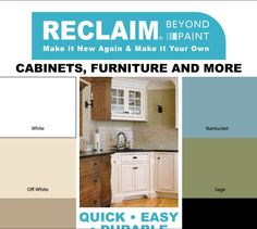 Reclaim Beyond Paint Countertop Makeover Kit : RECLAIM Products on Pinterest Paint Countertops, Hardware and Paint