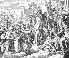Bilder der Bibel - Sieg des Judas - Julius Schnorr von Carolsfeld