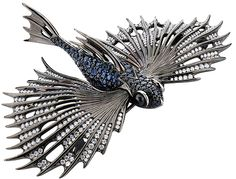Flying fish brooch @ Stephen Webster.  I want, I want