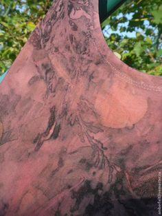 """Платья ручной работы. Ярмарка Мастеров - ручная работа Платье из хлопкового трикотажа """"Scarlet  """", в эко стиле.. Handmade."""
