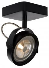 Lucide Plafondspot Tala 1 - Dimbare LED - Mat Zwart