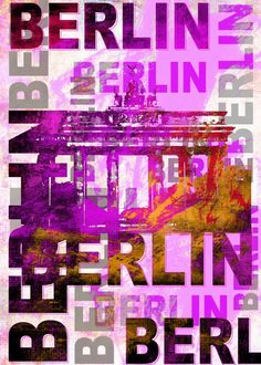 Berlin  Berlin Gallery quality print on thick 45cm / 32cm metal plate. Each Displate print verified by the Production Master. Signature and hologram added to the back of each plate for added authenticity & collectors value. Magnetic mounting system included.  EUR 45.00  Meer informatie